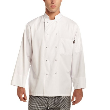 [디키즈] Francesco Classic Chef Jacket - White
