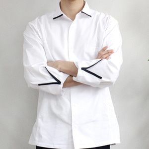 [비프앤포크] French Shirt Chef Coat