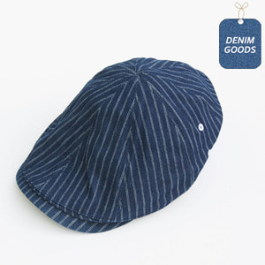 [쉐프앤코] Chef Hunting Cap - Denim Stripe