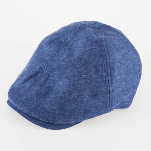[쉐프앤코] Cotton Hunting Cap - Melange Blue