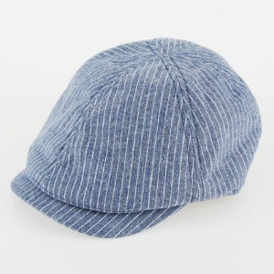 [쉐프앤코] Cotton Hunting Cap - Blue Stripe