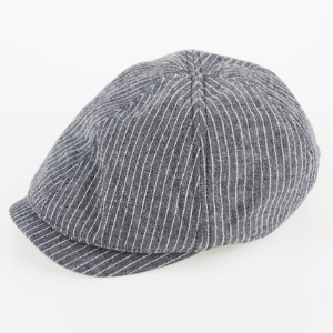 [쉐프앤코] Cotton Hunting Cap - Black Stripe