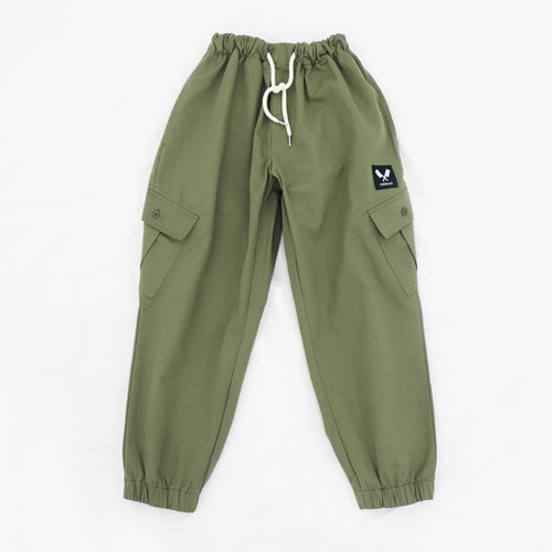 [쉐프앤코] Cotton Jogger Chef Pants - Khaki
