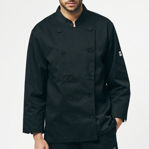 [쉐프앤코] Heritage Chef Jacket - Black